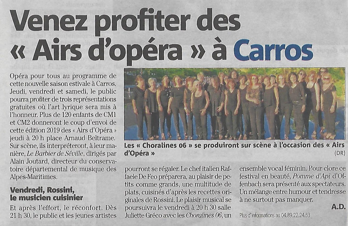 gallery/article nice matin du 26-06-2019 annonce concert carros